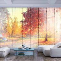 Autumn Sun fotostat - flot foto tapet til væggen
