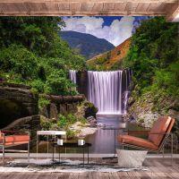 Reggae Falls fotostat - flot foto tapet til væggen