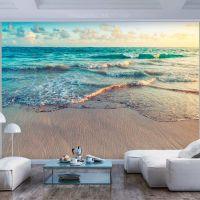 Beach in Punta Cana fotostat - flot foto tapet til væggen