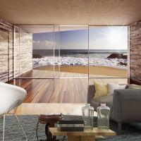 Meeting at the Sea fotostat - flot foto tapet til væggen