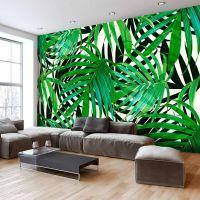 Tropical Leaves fotostat - flot foto tapet til væggen