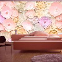 Flower Bouquet fotostat - flot foto tapet til væggen