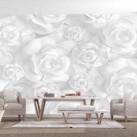 Plaster Flowers fotostat - flot foto tapet til væggen