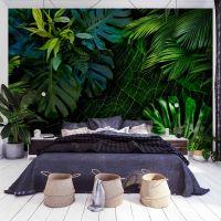 Dark Jungle fotostat - flot foto tapet til væggen