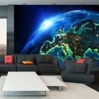 The Blue Planet fotostat - flot foto tapet til væggen