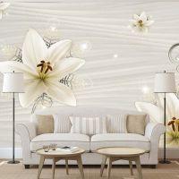 Creamy Illusion fotostat - flot foto tapet til væggen