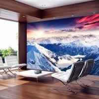 Magnificent Alps fotostat - flot foto tapet til væggen