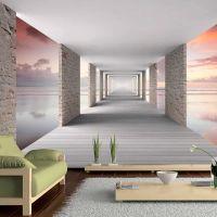 Walk in the Sky fotostat - flot foto tapet til væggen