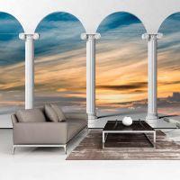 Heavenly Arch fotostat - flot foto tapet til væggen