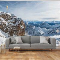 Alps - Zugspitze fotostat - flot foto tapet til væggen