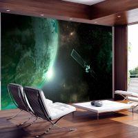 Green Planet fotostat - flot foto tapet til væggen