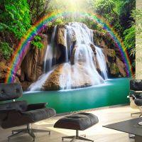 Waterfall of Fulfilled Wishes fotostat - flot foto tapet til væggen
