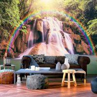 Magical Waterfall fotostat - flot foto tapet til væggen