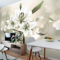 Lily - Flower of Masters fotostat - flot foto tapet til væggen