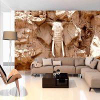 Stone Elephant (South Africa) fotostat - flot foto tapet til væggen