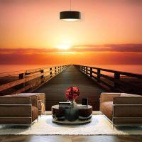 Sunset Ceremony fotostat - flot foto tapet til væggen