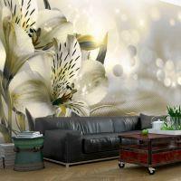 Green Daybreak fotostat - flot foto tapet til væggen