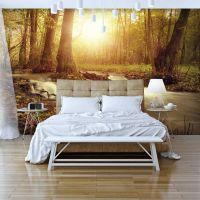 Sunny Current fotostat - flot foto tapet til væggen