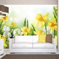 Spring walk fotostat - flot foto tapet til væggen