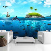 Waterland fotostat - flot foto tapet til væggen