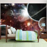Walk in Space fotostat - flot foto tapet til væggen