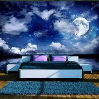 Magic night fotostat - flot foto tapet til væggen