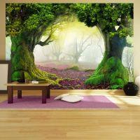 Enchanted forest fotostat - flot foto tapet til væggen