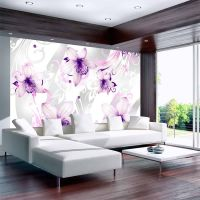 Sounds of subtlety - violet fotostat - flot foto tapet til væggen