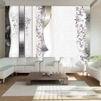 Parade of orchids fotostat - flot foto tapet til væggen