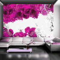 Colors of spring: fuchsia fotostat - flot foto tapet til væggen