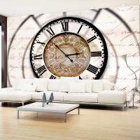 Clock movement fotostat - flot foto tapet til væggen