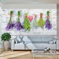 Spring inspirations fotostat - flot foto tapet til væggen