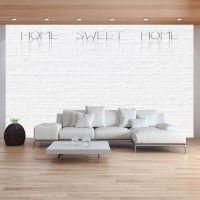 Home, sweet home - wall fotostat - flot foto tapet til væggen