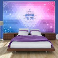 If you can dream it, you can do it! fotostat - flot foto tapet til væggen
