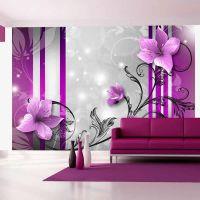 Violet buds fotostat - flot foto tapet til væggen