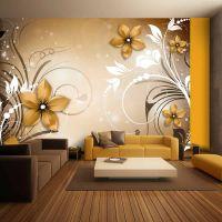Brown rhapsody fotostat - flot foto tapet til væggen