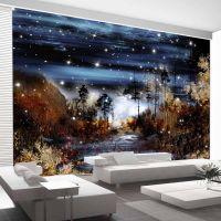 Magical forest fotostat - flot foto tapet til væggen