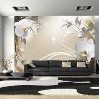 Gold dance fotostat - flot foto tapet til væggen