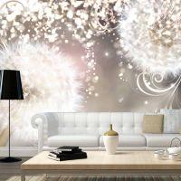 Spellbound dandelions fotostat - flot foto tapet til væggen