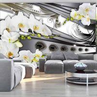 Orchids & jewelry fotostat - flot foto tapet til væggen