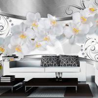 Flower bridge fotostat - flot foto tapet til væggen
