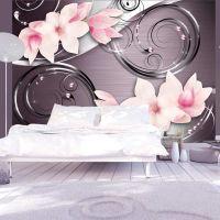 Pink phantasmagoria fotostat - flot foto tapet til væggen