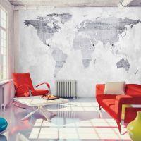 Concrete Map fotostat - flot foto tapet til væggen