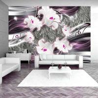 Dance of charmed  lilies fotostat - flot foto tapet til væggen