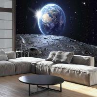 View of the Blue Planet fotostat - flot foto tapet til væggen