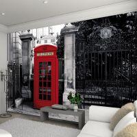 Telefonbox Fototapet - NiceWall.dk