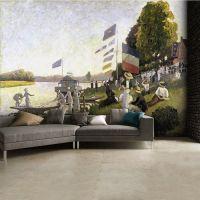 Claude Monet-maleri foto tapet - Flot og farverig foto stat