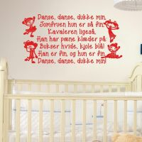 Wallsticker Danse