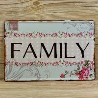 Emaljeskilt Family - NiceWall.dk