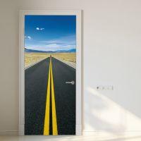 Amerikansk landevej - Foto tapet - Foto stat